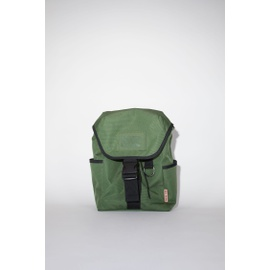 Acnestudios Large backpack dark green C10076-AAX
