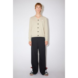 Acnestudios Cardigan sweater cream beige C60024-AEB