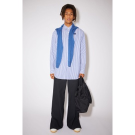 Acnestudios Striped shirt white/blue CB0028-AMC