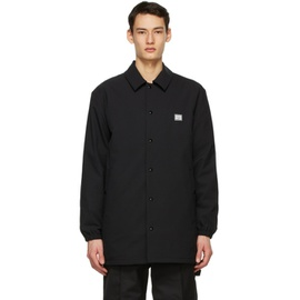 Acne Studios Black Padded Coach Jacket 211129M180044
