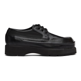 Acne Studios Black Leather Derbys 211129M225366