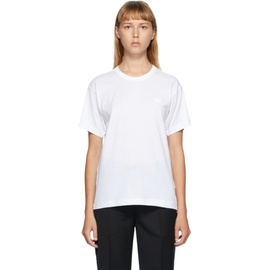 Acne Studios White Nash Patch T-Shirt 202129F110032