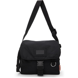 Acne Studios Black Large Canvas Messenger Bag 211129M170007