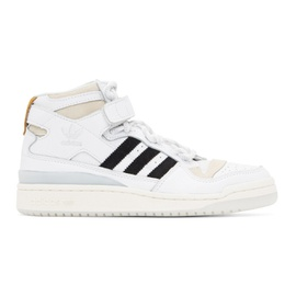 Adidas x IVY PARK White Forum Mid Sneakers 211451F127044
