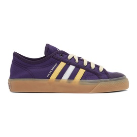 Wales Bonner Purple adidas Edition Nizza Sneakers 211752F128027