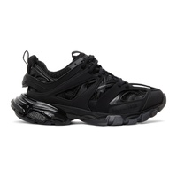 Balenciaga Black Track Clear Sole Sneakers 211342M237026