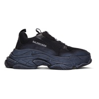 Balenciaga Black Triple S Sneakers 182342M237006