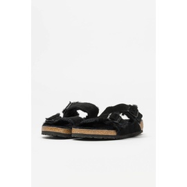 Birkenstock Arizona Shearling in Black 0752661-040