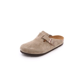 Birkenstock Suede Soft Footbed Boston Clogs BIRKE30018