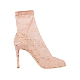 DOLCE & GABBANA Blush Bette corded lace sock boots 7083732248627399