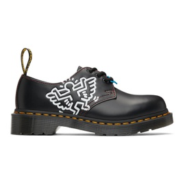 Dr. Martens Black Keith Haring Edition 1461 Derbys 211399M225035