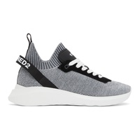 Dsquared2 Grey Speedster Sneakers 211148M237012
