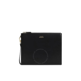 Black Leather Pouch With Gucci Logo 547613 0YA0G 1000