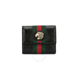 Gucci Leather Black Leather Rajah Wallet 573794 0OLHX 8389