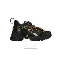 Gucci Flashtrek Sneaker with Removable Crystals 537153 GGZ50 1078