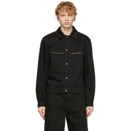 Lemaire Black Denim Trucker Jacket 211646M177003