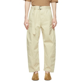 Lemaire Off-White Twisted Jeans 211646M186006