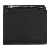 Maison Margiela Black Medium Fold-Out Zipped Wallet 211168M164125