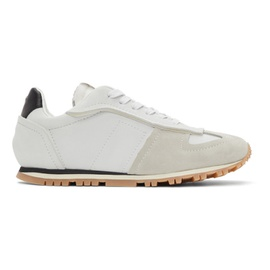 Maison Margiela Off-White Runner Sneakers 211168M237048
