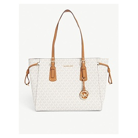 MICHAEL MICHAEL KORS Voyager coated 캔버스 tote 128-3001451-30F8GV6T2B150