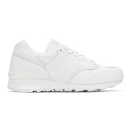 New Balance White Made In US M1400B Sneakers 211402M237129