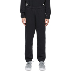 Nike Black NRG Wash Lounge Pants 211011M190112