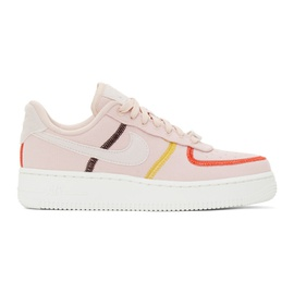 Nike Pink Air Force 1 07 LX Sneakers 202011F128141