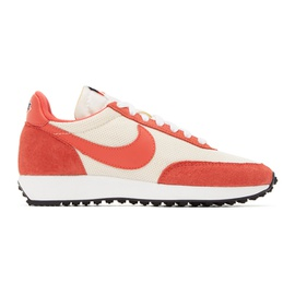 Nike Red & Off-White Air Tailwind 79 SE Sneakers 202011F128044