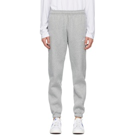 Nike Grey Sportswear Club Lounge Pants 211011M190095