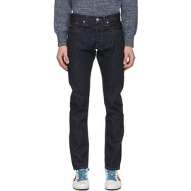 RRL Indigo Denim Slim Fit Jeans 211435M186025