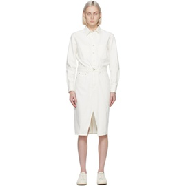 Rag & bone Off-White Denim All In One Dress 211055F052054