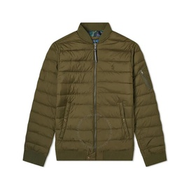 Polo Ralph Lauren Mens Company Olive Down Filled Bomber Jacket 710757179002