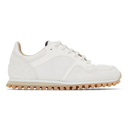 Spalwart White & Off-White Marathon Trail Low (WBHS) Sneakers 211818F128002