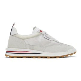 Thom Browne White Ripstop Tech Runner Sneakers 211381M237013