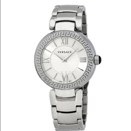 Versace Women's Leda Stainless Steel Silver Dial VNC210017