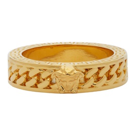 Versace Gold Chain Band Ring 211404M147186