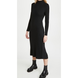 Variegated Rib Turtleneck Dress VINCE50871